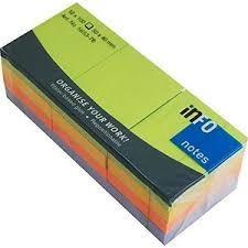 يادداشت چسبدار 40×50 رنگي inFO 5653-76