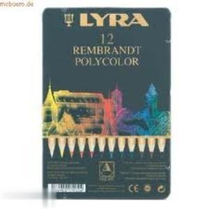 مدادرنگي 12 رنگ فلزي LYRA 2600 Polycolor 