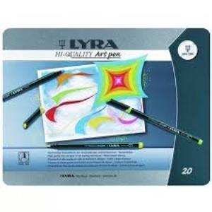 ماژيك 20 رنگ LYRA 6751200 Art Pen