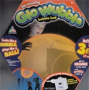 The Amazing Glo Wubble Orange 72282