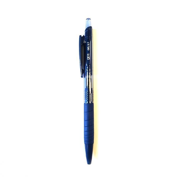 خودكارژلهاي 12تاييآبيتيره 0.5 BLUE BLACK(كرند)