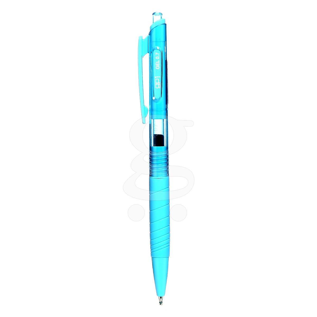 خودکارژلهای 12تاییآبیآسمانی 0.5 SKY BLUE(کرند)