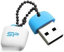 فلش مموری 32GB آبی Silicon Power T07 TOUCH USB2