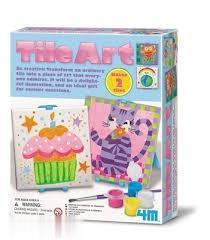 هنر نقاشي كردن روي كاشي 4591