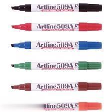 ماژيك وايت برد نوك تخت قرمز Artline 509A