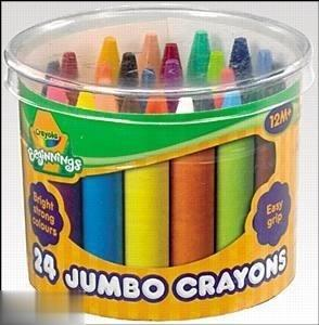 پاستل روغني 24 رنگ Crayola 0784 Mini Kids