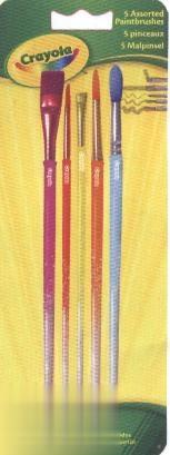 Ct 5 Paint Brushes 3007