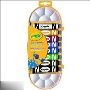 رنگ آكريليك 8 رنگ Crayola 7407 12ml
