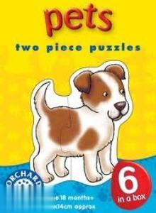 Pets Two Piece Puzzles 206