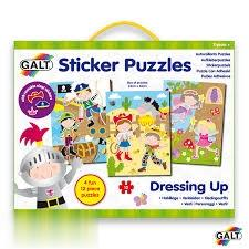 Sticker Puzzles Dressing Up 4639