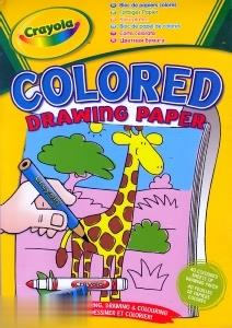 Coloured Paper Pad 10507