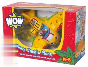 Johnny Jungle Plane 01013
