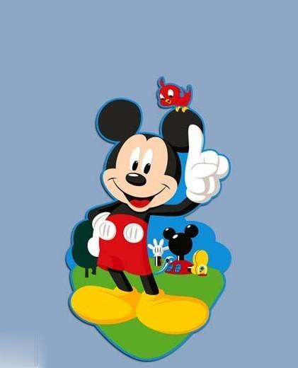 استيكر فومي DECOFUN 23901 Mickey Mouse 14pcs