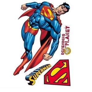 استيكر DECOFUN 41332 Maxi Sticker SuperMan