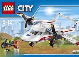City Ambulance Plane 60116