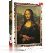 پازل Mona lisa 1000pcs 10002