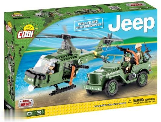 Willys MB With Helicopter 24254