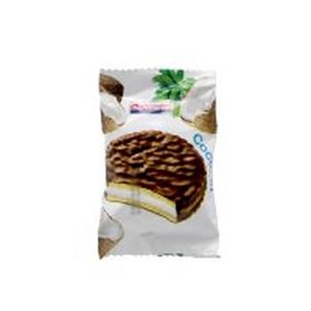 بیسکویت روکشدار شکلاتی با طعم آناناس