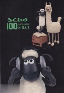 دفتر 100 برگ سيمي وزيري مجلد SIBO Disney