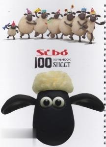دفتر 100 برگ گالينگور وزيري SIBO Disney