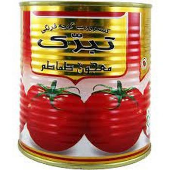 کنسرو رب گوجه فرنگی تبرک