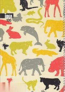 دفتر 100 برگ سيمي وزيري كلاسيك IDEA