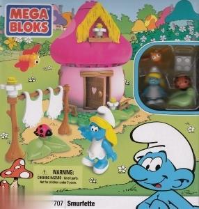 Mega Bloks The Smurfs 10707