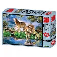 پازل Wolves 3D 500pcs 10020