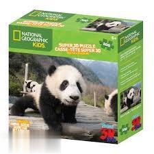 پازل Panda 3D 100pcs 13132
