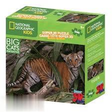 پازل Tiger 3D 150pcs 13322