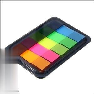 يادداشت چسبدار ايندكس رنگي deli 9060 45×12