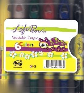 پاستل روغني 6 رنگ TTM Life Pen Jumbo