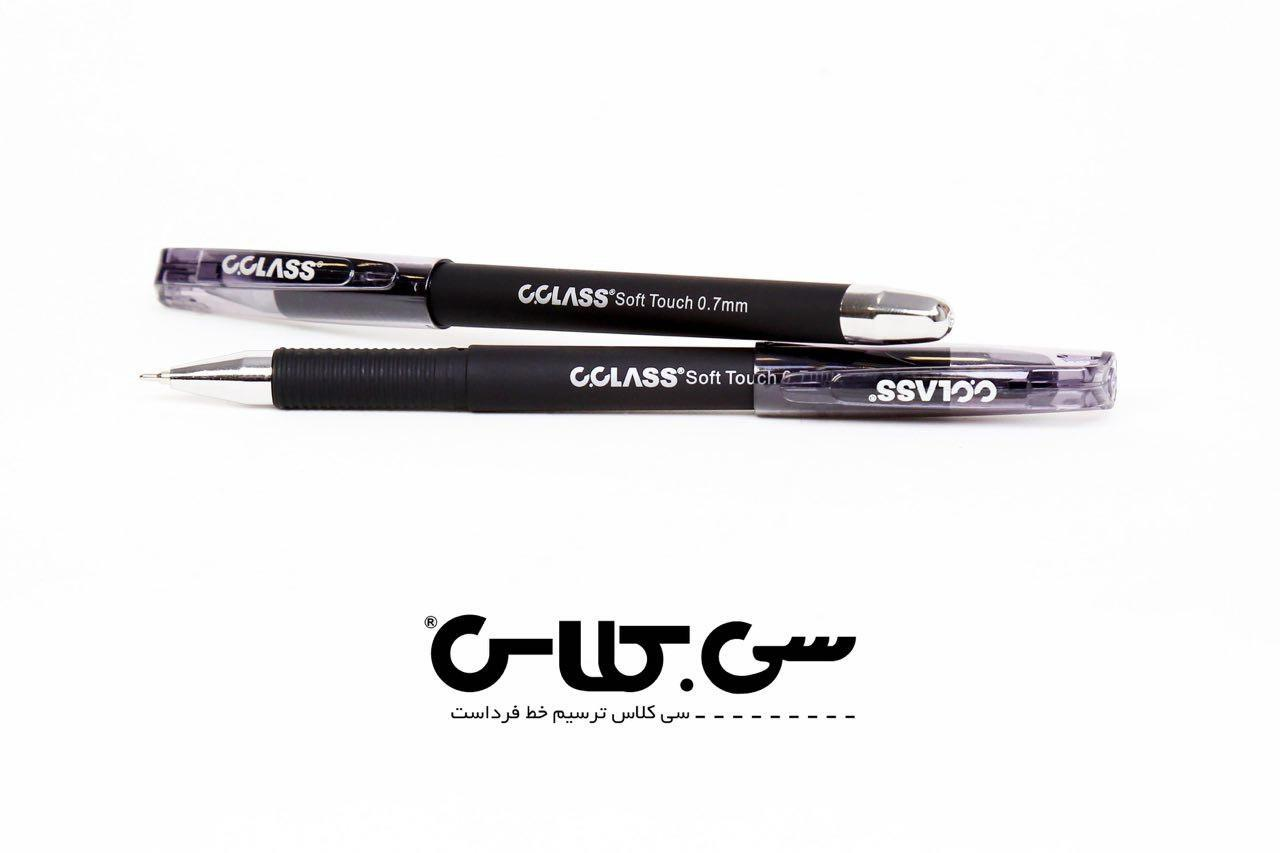 خودكار مشكي C CLASS OG-5700 Soft Touch Ball 0.7mm