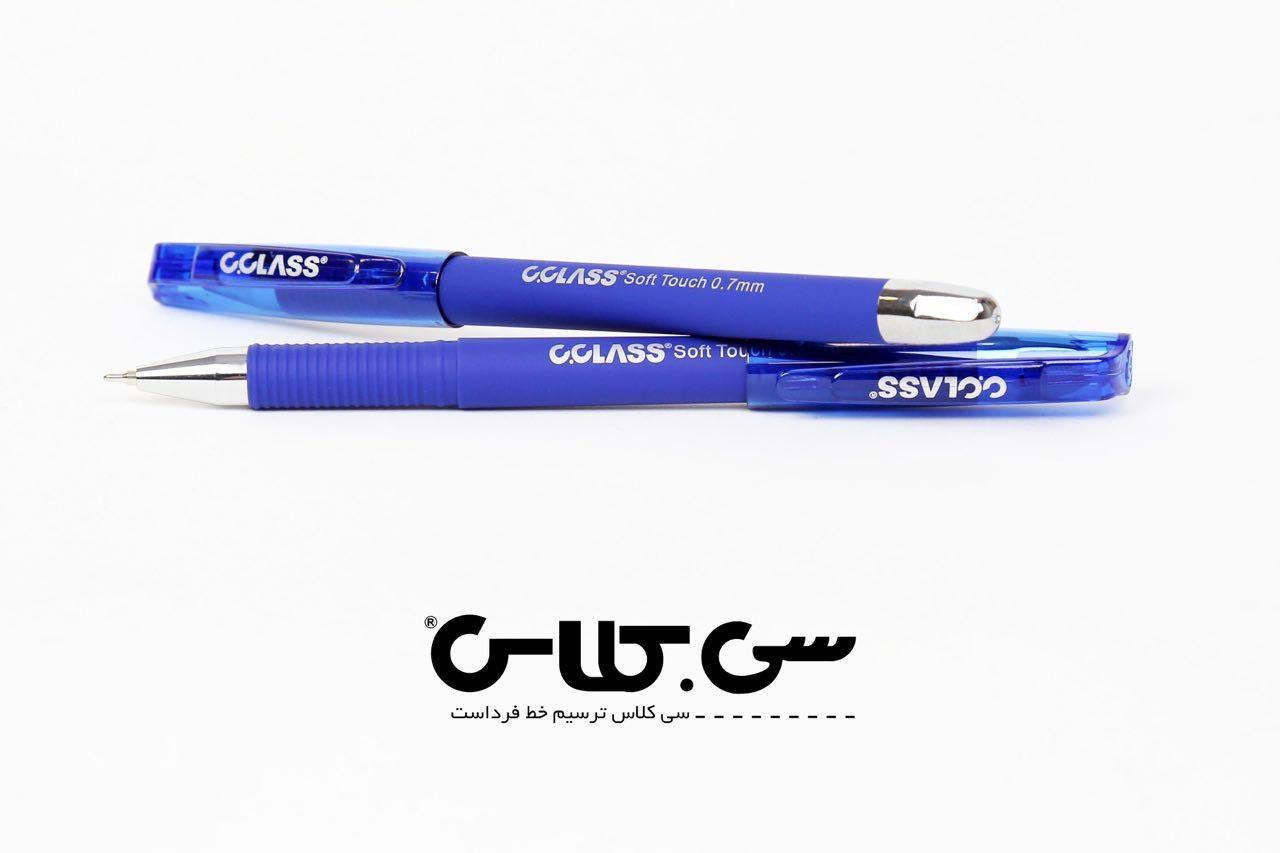 خودكار آبي C CLASS OG-5700 Soft Touch Ball 0.7mm