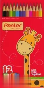 مدادرنگي 12 رنگ مقوايي Panter 10112