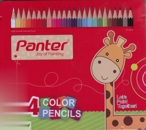 مدادرنگي 24 رنگ فلزي Panter 10124