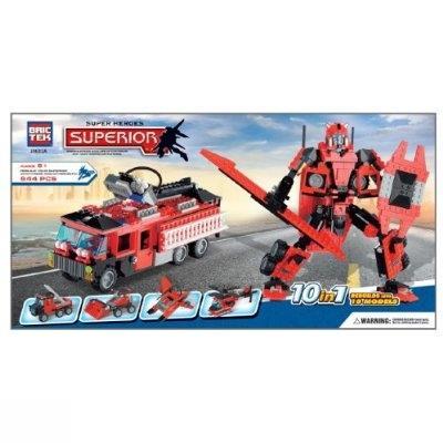 Superior Super Heroes 10 in 1 544pcs J5633A