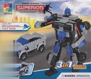 Superior Super Heroes 3 in 1 137Pcs J5737A