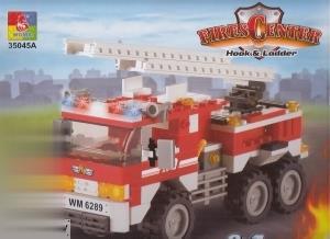 Fires Center Hook & Ladder 3 in 1 171pcs 35045A