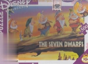 پازل The Seven Dwarfs 2860