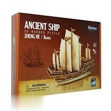 Ancient Ship (3D Wooden Puzzle) BA401S