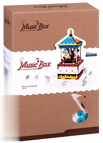 Merry Go Round (Music Box 3D Wooden Puzzle) AM304