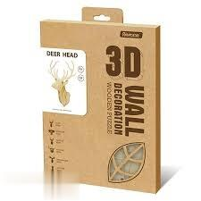 Deer Head (3D Wall Decoration Wooden Puzzle) AW301