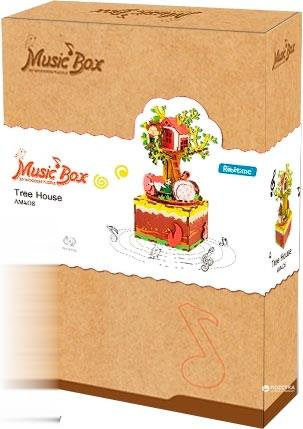 Tree House (Music Box 3D Wooden Puzzle) AM408