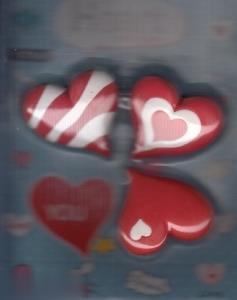پاككن قلب 3 عددي 1563