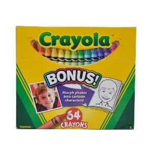 پاستل روغني 64 رنگ Crayola 0064 Bonus