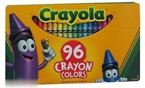 پاستل روغني 96 رنگ Crayola 0096 Crayons