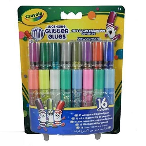 چسب اكليلي 16 رنگ Crayola 4200