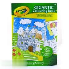 دفتر رنگ‌آميزي Crayola Gigantic Colouring Book 1407