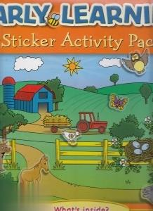 Early Learning Sticker Activity Pack